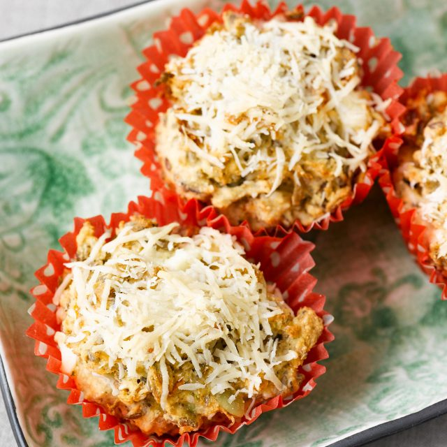 Savoury muffins with Fibre bread mix