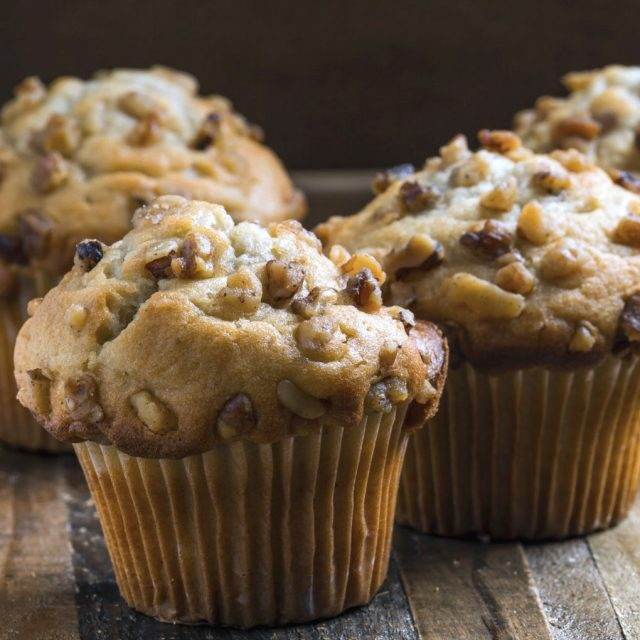 Gluten-free banana muffins with Coconut Flour
