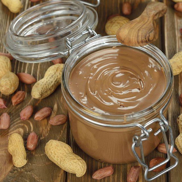 Low-fat peanut butter with Peanut flour