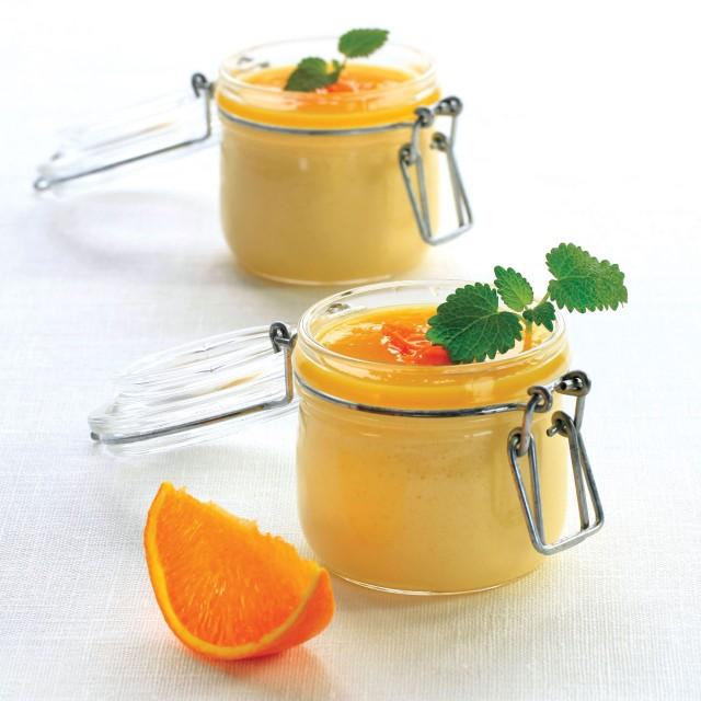 Orangen-Mousse