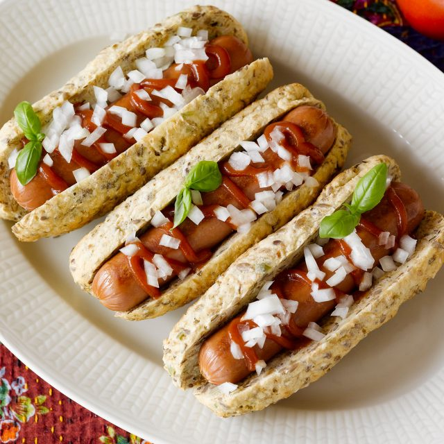 Hot dog buns with Chia bread mix
